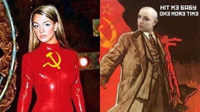Memes de Britney Spears comunista por mensaje en Instagram
