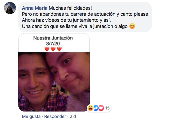 Eva Rojas se va a vivir con su novio