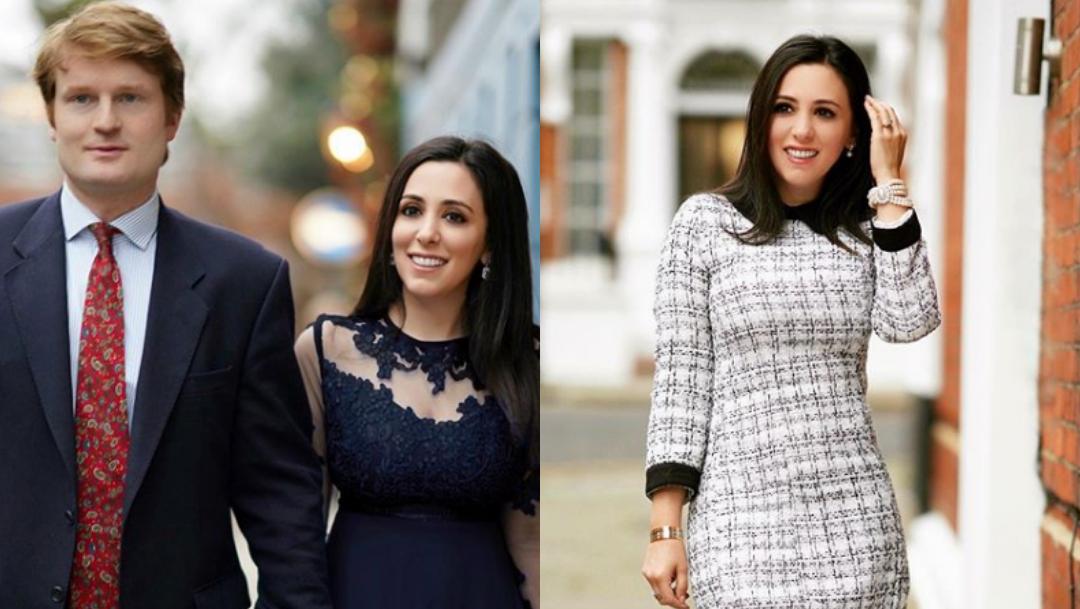 Hanna Jaff, mexicana que se casará con familia real