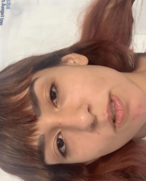 Hija de Niurka sufre accidente en motocicleta
