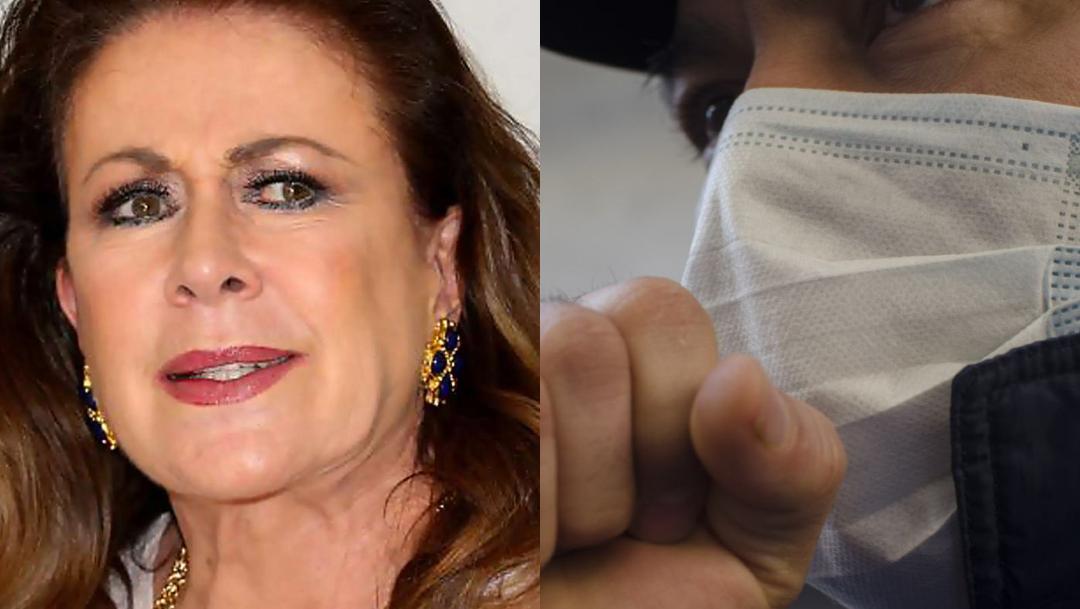 Laura Zapata enseña cómo cuidarse de coronavirus COVID-19