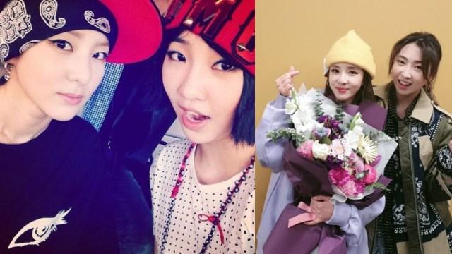 Minzy y Sandara d 2NE1 se reúnen tras cuatro años en musical