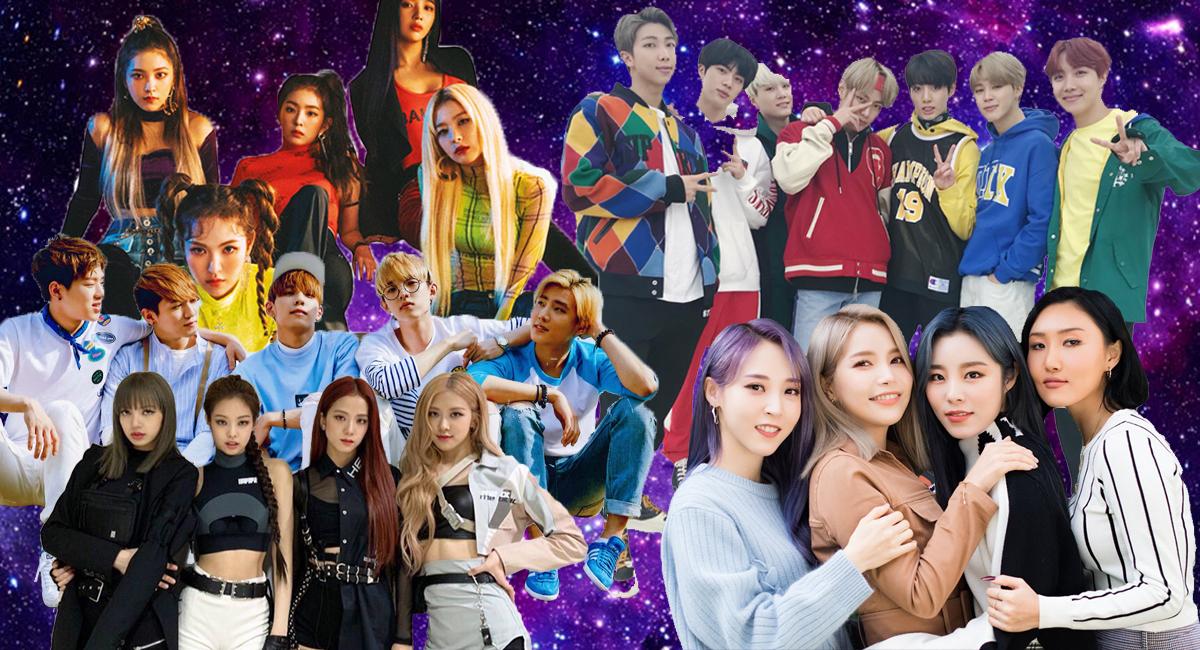 Grupos famosos de Kpop con los que puedes iniciarte