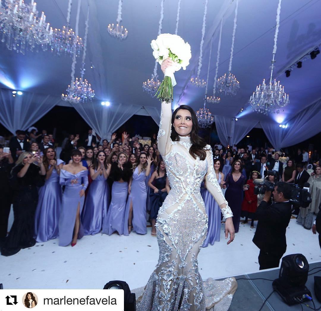 Altair Jarabo arrepentida del vestido que usó en boda de Marlene Favela