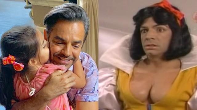 Eugenio Derbez y su cambio de look a manos de hija Aitana