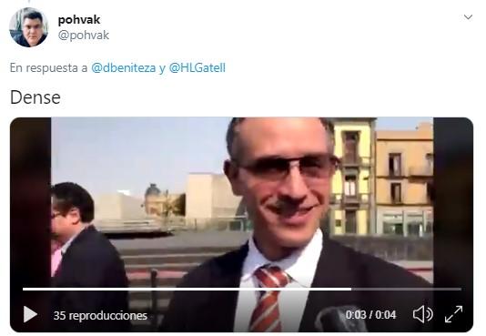 Hugo Lopez Gatell es llamado papi por indigente