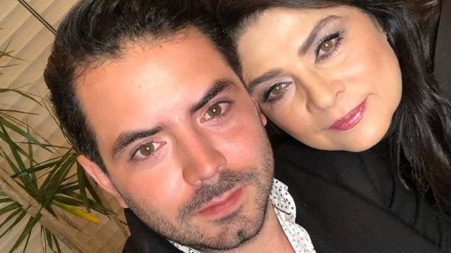 José Eduardo Derbez y Victoria Ruffo mamá