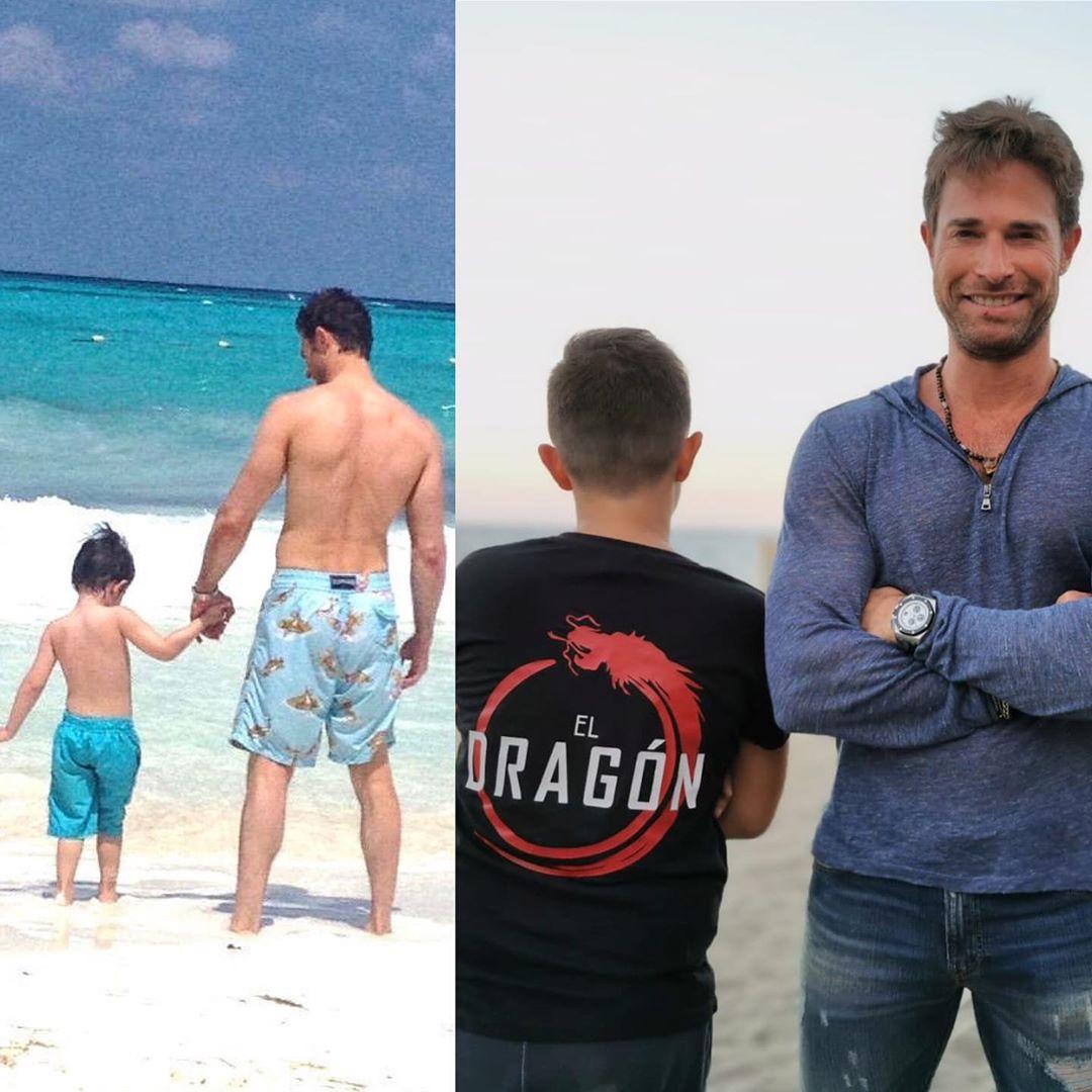 Aseguran que Sebastián Rulli oculta a su hijo con Cecilia Galiano