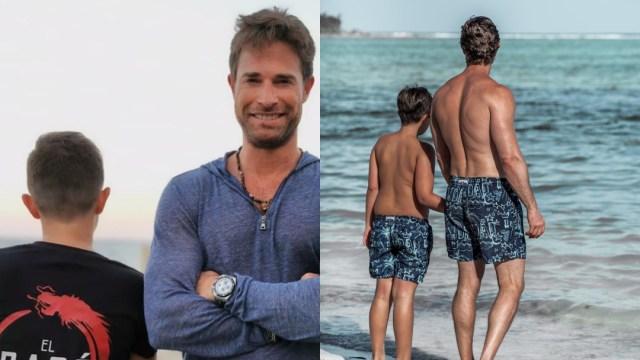Sebastian Rulli así se ve su hijo con Cecilia Galiano