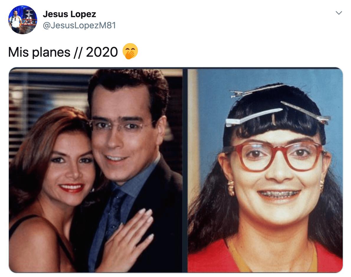 Memes mis planes el 2020