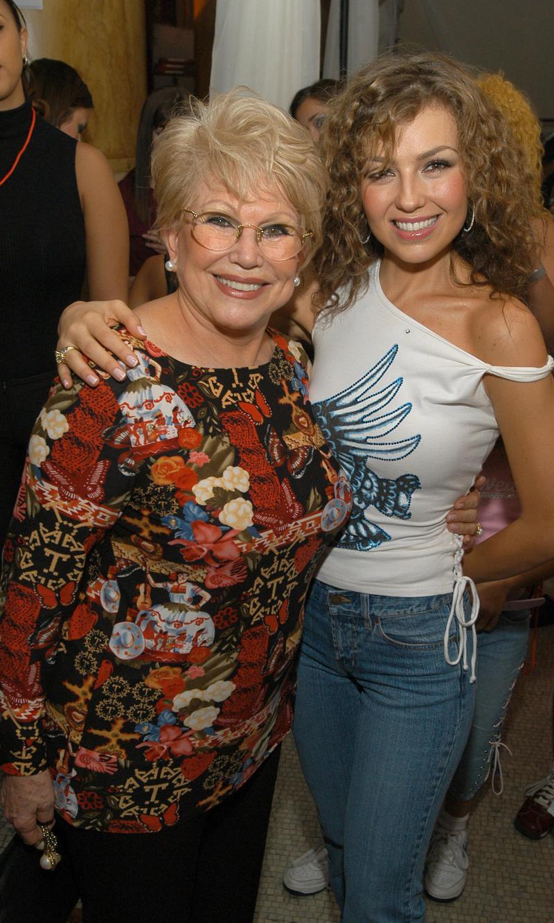 Thalia recuerda a su mama en aniversario luctuoso