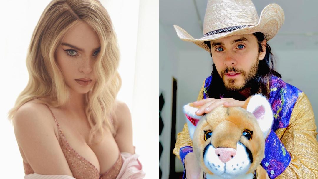 """Belinda enamora a Jared Leto al cantarle """"Cielito Lindo"""""""