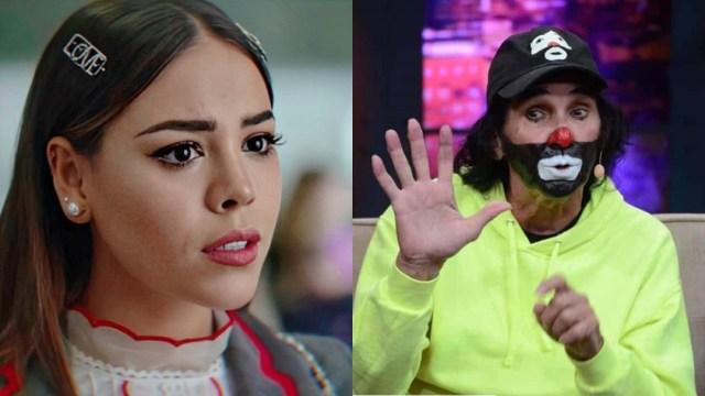 Cepillín arremete contra Danna Paola por fobia a los payasos