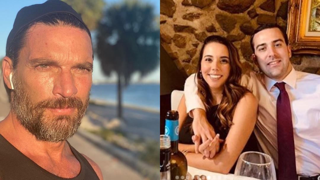 Hija de Julián Gil promete a su esposo que vencerán cáncer