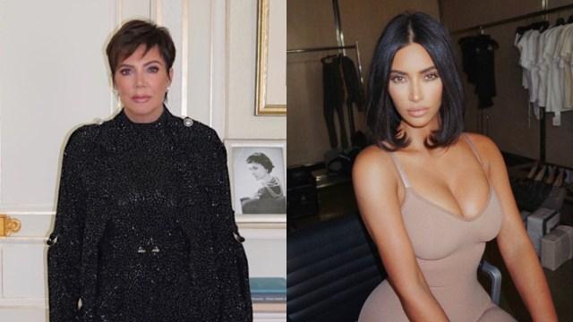 Kim Kardashian y su mamá joven en el Día de las Madres