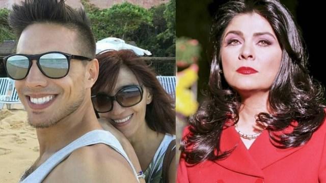 Mamá de Vadhir Derbez y Victoria Ruffo
