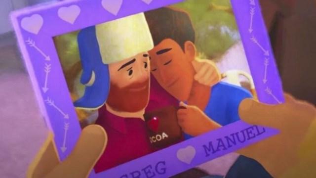 Pixar presenta 'Out', corto con personaje gay en Disney+