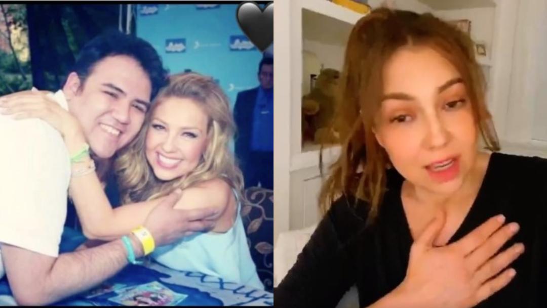 Thalía devastada tras muerte de amigo y fan por Coronavirus
