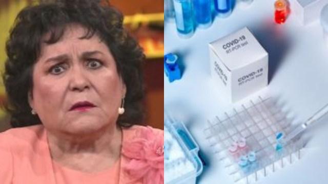 Carmen Salinas ataca a los que creen coronavirus es invento