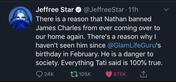 Tati Westbrook acusa a Jeffree Star y Shane Dawson de arruinar su carrera