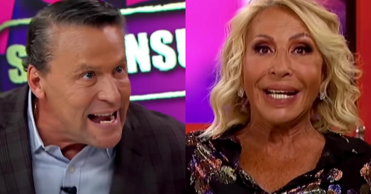 Alfredo Adame se pelea con Laura Bozzo en programa video