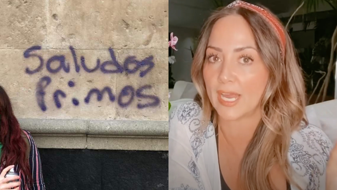 Andrea Legarreta aclara rumores de prima que cometio saqueos