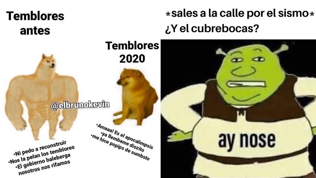Memes temblor de hoy 23 de junio 2020 en cuarentena covid