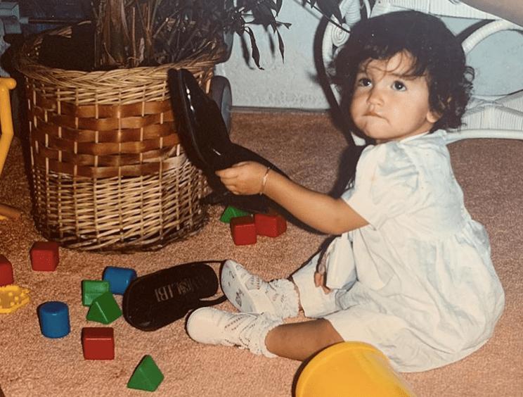 Mamá de Eiza González muestra las fotos de bebé de su hija y se ve adorable