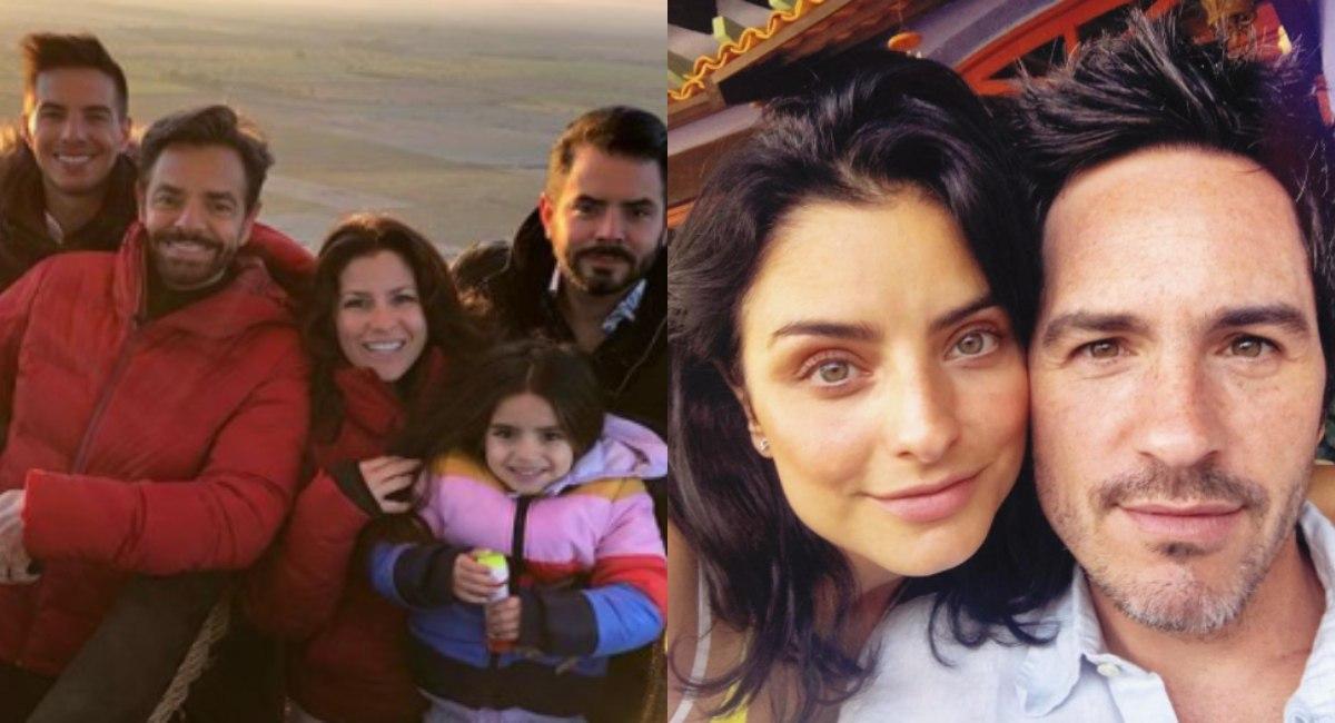 Aislinn Derbez y Mauricio Ochman divorcio familia se burla en serie