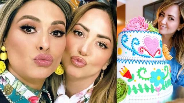 Galilea Montijo le dio un exclusivo regalo a Andrea Legarreta por su cumpleaños