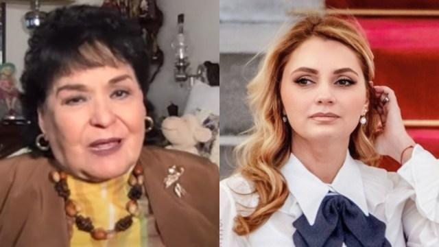 Carmen Salinas critica Angélica Rivera por boda Peña Nieto