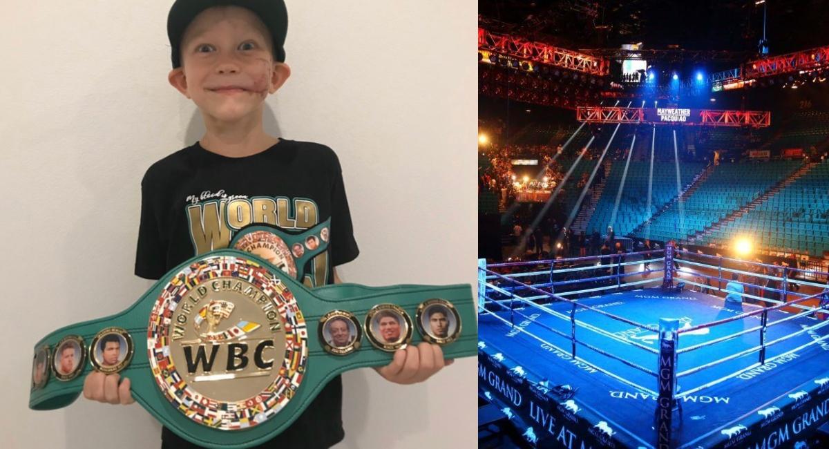 CMB nombra campeón del mundo a niño que salvó a su hermana del ataque de un perro