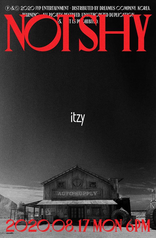 Itzy lanza el teaser video de Not Shy, su comeback