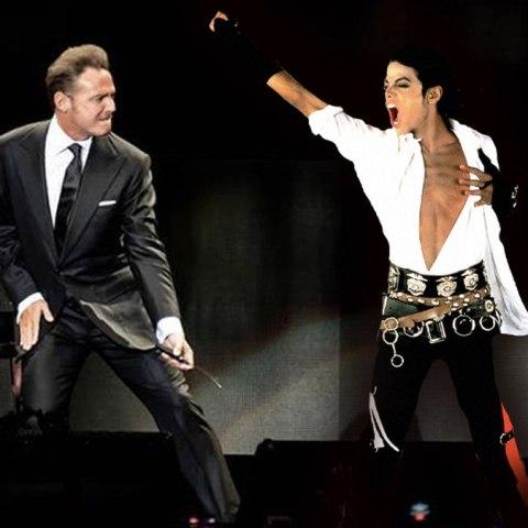 Luis Miguel y Michael Jackson cantaron juntos a dueto smile y tenemos el video