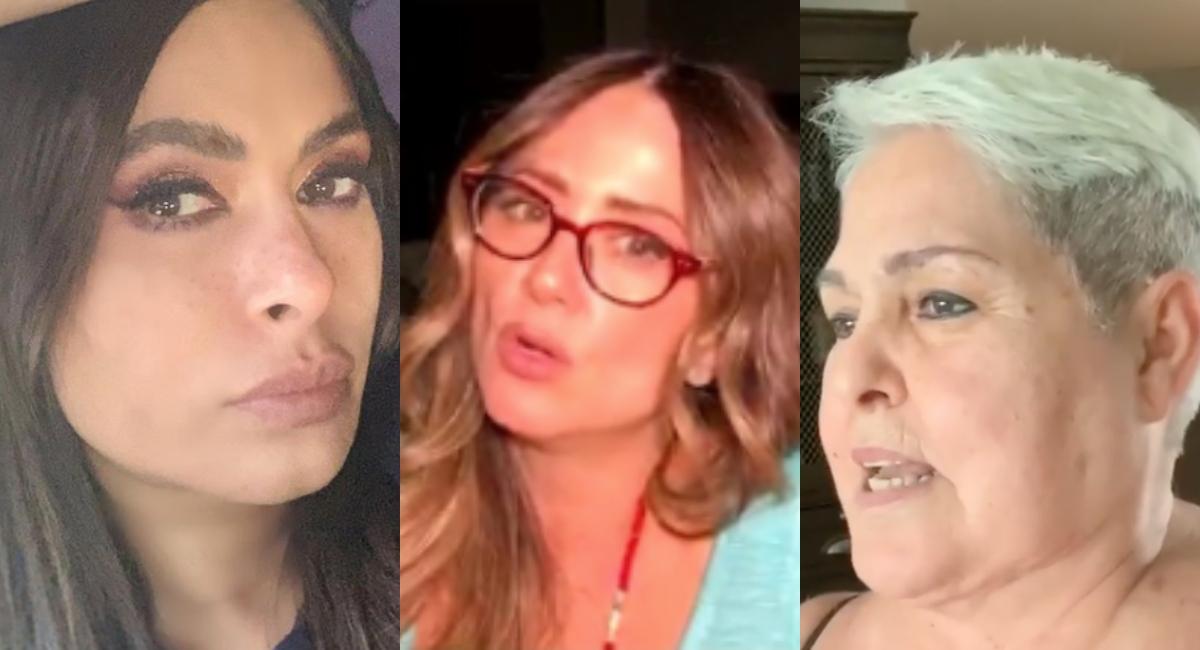 Lupita D'Alessio pelea Andrea Legarreta y Galilea Montijo