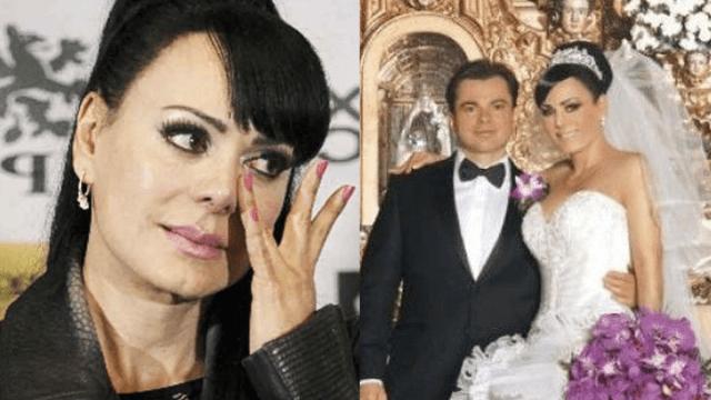 Maribel Guardia celebra 9 años de su boda con Marco Chacón