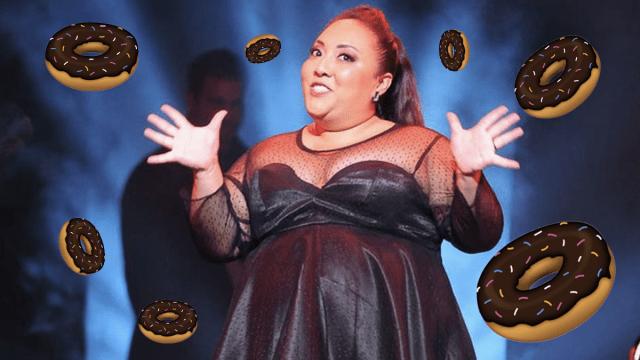 Michelle Rodríguez vende donas a causa del coronavirus