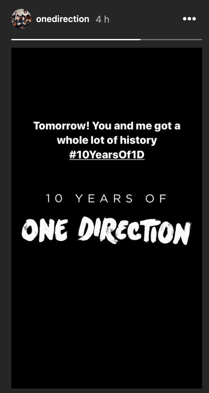 Como festejará One Direction su 10 aniversario