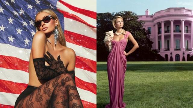 Paris Hilton anuncia quiere ser presidenta de Estados Unidos