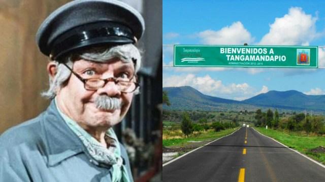 """Tangamandapio, el pueblito de Jaimito """"el cartero"""", sí existe y así luce el famoso lugar de El Chavo del 8"""