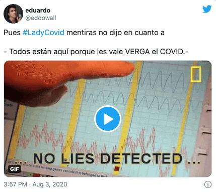 Bajan Lady Covid avión Cancún no usar cubrebocas: Video