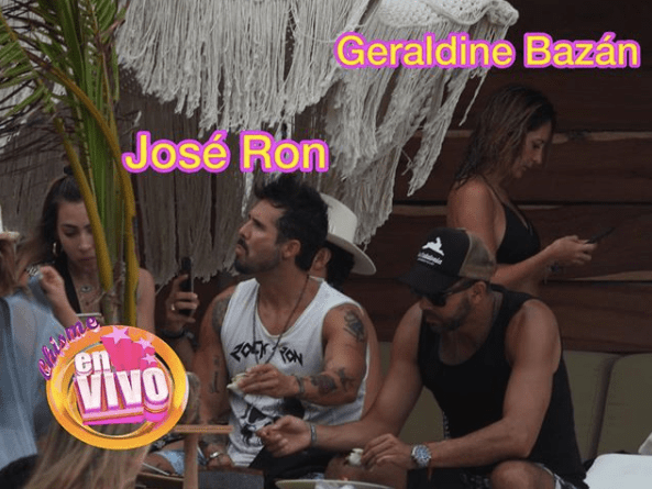 Revelan fotos que dan pistas de José Ron y Geraldine Bazán podrían estar juntos
