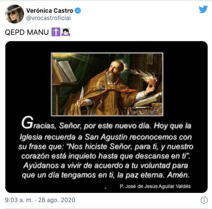 Así fue la dolorosa historia de amor de Verónica Castro y El Loco Valdés