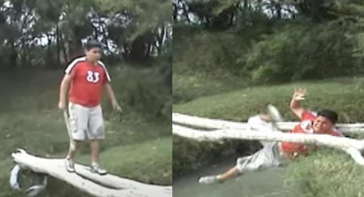 Así luce ahora Edgar, el niño que se cae: Video Viral