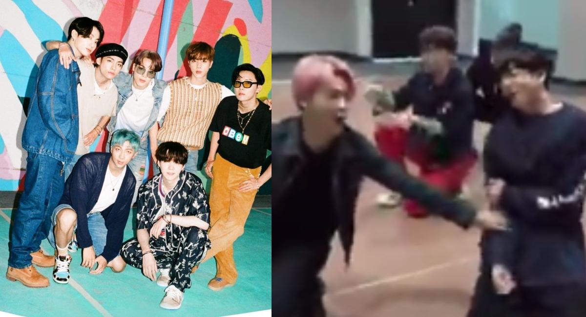 BTS sufrió accidente mientras bailaban uno de sus ensayos