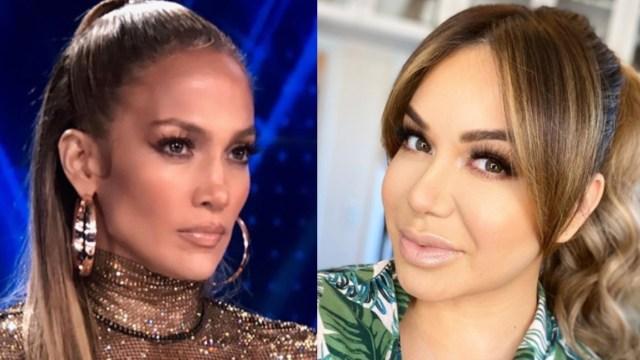 Confunden a Chiquis Rivera con Jennifer Lopez por una foto