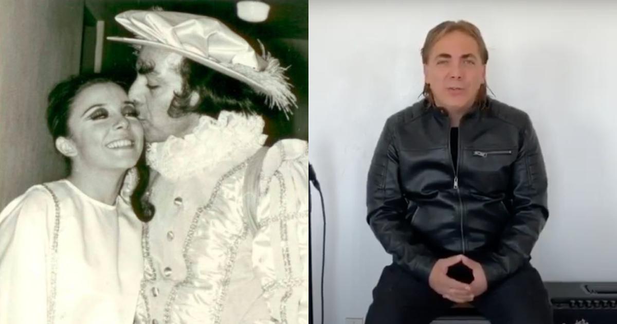 Cristian Castro reacciona a la muerte papá Loco Valdés