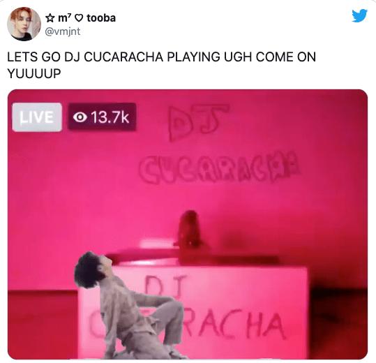 Dj Cucaracha da concierto Facebook 10 millones de personas