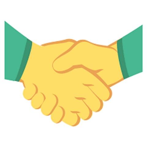 Emoji de apretón de manos no tiene otro color por esta razón
