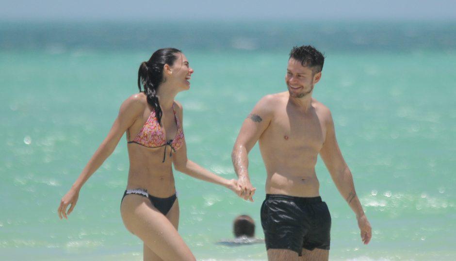 Livia Brito viajó con su amante a Cancún, no con su novio